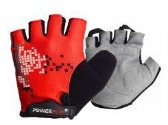 Велоперчатки PowerPlay M Красные (002B_M_Red)