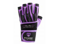 Перчатки для фитнеса и тяжелой атлетики Power System Fitness Chica L Purple (PS-2710_L_Purple)