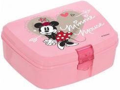 Ланч-бокс Herevin Minnie Mouse 17х12х7 см (UK-161277-121_psg)