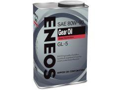 Трансмиссионное масло ENEOS GL-5 80W-90 0.94 л (ENGO80W90-1)