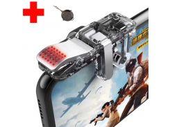 Беспроводной сенсорный геймпад триггер для смартфона на 4 пальца Union PUBG Mobile U9 Sundy (094)