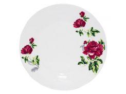 Набор 6 десертных тарелок ST Цветущий Пион d 19 см Белый (ST-30080-003_psg)