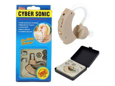 Слуховой аппарат Cyber Sonic + 3 батарейки (up7272)