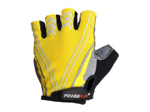Велорукавички PowerPlay 5007 C XL Жовті (5007C_XL_Yellow)