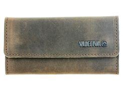 Ключница кожаная Valenta Коричневый (ХК-4182)