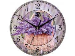 Часы настенные Сирень (110-1083237)