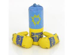 Боксерский набор Danko Toys S-UA Синий с желтым (2-52172)