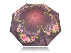 Зонт женский механический компактный облегченный MAGIC RAIN Фиолетовый (ZMR1231-6)