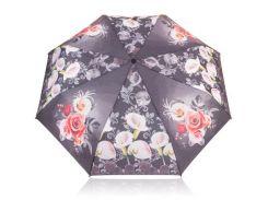 Зонт женский механический компактный облегченный MAGIC RAIN Черный (ZMR1232-07)