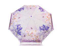 Зонт женский механический компактный облегченный MAGIC RAIN Фиолетовый (ZMR1232-08)