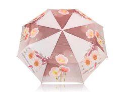 Зонт женский механический компактный облегченный MAGIC RAIN Розовый (ZMR1232-10)