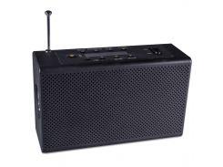 Фонарь Haoyi HY-018 с динамо и радио USB micro SD Black (1640-5790)