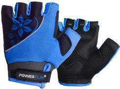 Велорукавички PowerPlay 5281 B Блакитні M
