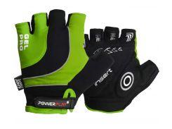Велорукавички PowerPlay 5015 B Зелені XS