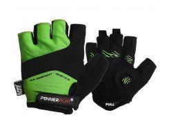 Велорукавички PowerPlay 5013 B Зелені L