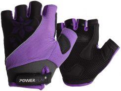 Велорукавички PowerPlay 5281 D Фіолетові S (FO835281D_S_Purple)