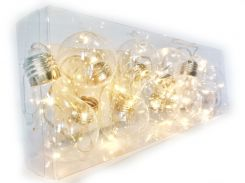 Гирлянды Cotton Balls 10led 6х180 см #16 (000000197)