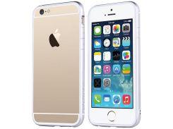 Чехол TOTU Evoque для iPhone 6S/6 White/Silver