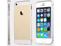 Чехол TOTU Mellow series Element Aluminum Bumper для iPhone 6S/6 Silver/Shinning Silver