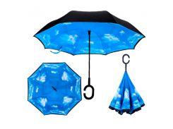 Зонт обратного сложения Up-brella Голубое небо (tdx0000035)