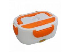 Ланч-бокс Electonic LunchBox с подогревом 220V и 12V Оранжевый (nri-2209)