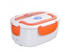 Электрический ланч-бокс с подогревом Electronic Lunchbox Оранжевый (nri-2238)