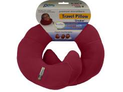 Подушка для путешествий DROM змейка Бордовый (11003)