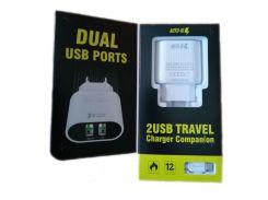 Сетевое зарядное устройство StatusACSE 12W MY-A202 (2,4 А) + кабель Micro-USB