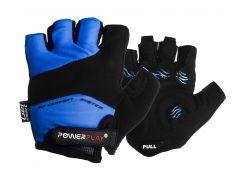 Велорукавички PowerPlay 5013 C L Сині (5013C_L_Blue)