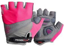 Велорукавички PowerPlay 5277 XS Рожеві (5277_XS_Pink)