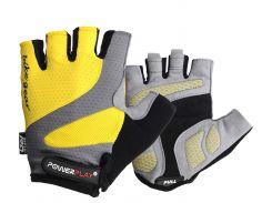 Велорукавички PowerPlay 5004 D M Жовті (5004D_M_Yellow)