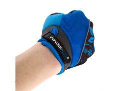 Велорукавички PowerPlay 5281 B Блакитні S (FO835281B_S_Blue)