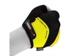 Велорукавички PowerPlay 5013 Жовті XL (FO835013_XL_Yellow)