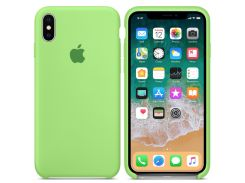 Чехол iG Silicone Case для iPhone X HQ Grass Green (IGSCIXGGBHQGM)