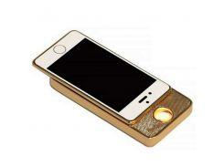 Электронная USB-зажигалка Золотой (100001LM)