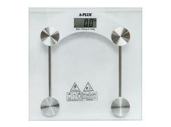 Весы напольные A-Plus AP-1653 стеклянные (43-AP-1653)