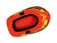 Лодка надувная Intex 58329 EXPLORER 100 Красный (int58329)