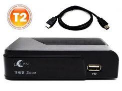 Комплект цифрового ресивера uClan T2 HD SE ND + HDMI 1м v1.4