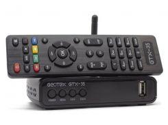 Цифровой DVB-T/T2/C ресивер Geotex GTX-35