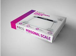 Весы бытовые ECG OV 127 Стекло 180 кг (986480408)