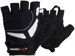 Велорукавички PowerPlay 5087 Чорні XL