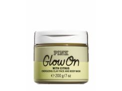 Глиняная маска для лица и тела Victoria's Secret Energizing Clay Face and Body Mask With Citrus Glow On 200 g
