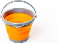 Ведро складное силиконовое Tramp 5л. TRC-092 Оранжевое (gr_008762)