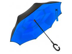 Зонт обратного сложения Up-Brella Синий (16000)