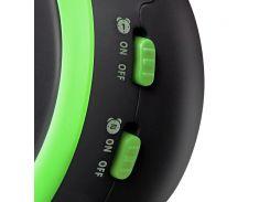 Настольные часы GOTIE с будильником Зеленые  GBE-300Z