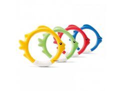 Набор для подводной игры Intex 55507 4 цвета Рыбки (int55507)