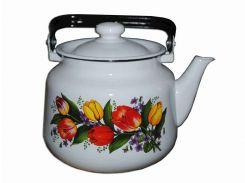 Чайник емальований Idilia Весняний букет 3.5 л 2713/2 (320935)