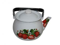 Чайник емальований Idilia Полуничний цвіт 2.5 л I2710/2 (453480)