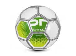 Футбольный мяч Spokey Mercury №5 Бело-зеленый (s0589)