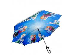 Зонт обратного сложения Up-brella Frozen Blue (hubber-298)